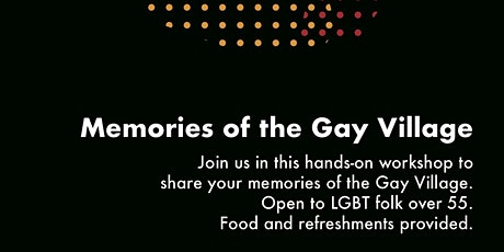 Lived Heritage of Manchester's Gay Village tickets