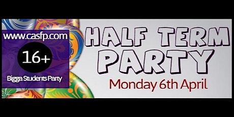 Half Term Party ★ (Mon 6th Apr) student promoter Jasmin tickets