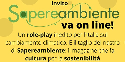 Sapereambiente va on line!
