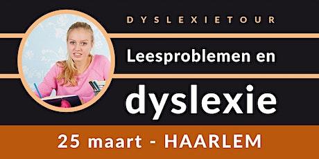 Balans Dyslexietour - Haarlem tickets