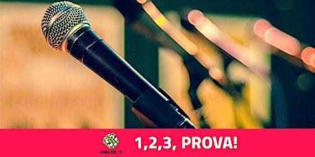 """""""1,2,3, PROVA a Parlare in pubblico"""" Asolo Venerdì 3 Aprile ore 20:30 biglietti"""