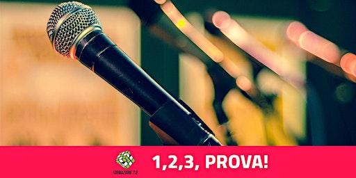 """""""1,2,3, PROVA a Parlare in pubblico"""" Asolo Venerdì 3 Aprile ore 20:30"""