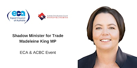 Lunch with the Shadow Minister for Trade, Madeleine King MP tickets