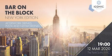 BAR ON THE BLOCK - NEW YORK tickets