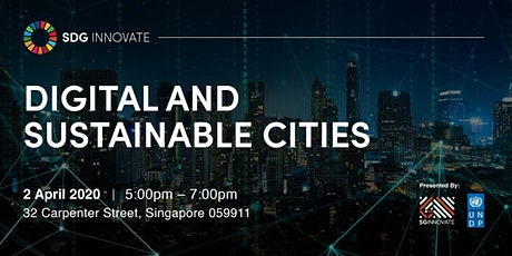 SDG Innovate: Digital and Sustainable Cities tickets