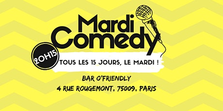Mardi Comedy #12 billets