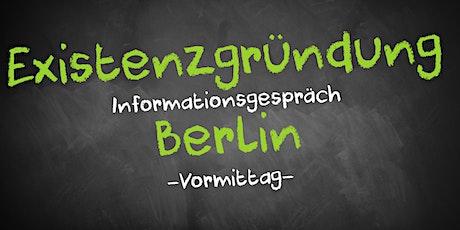 Existenzgründung Informationsgespräch Berlin Mitte Tickets