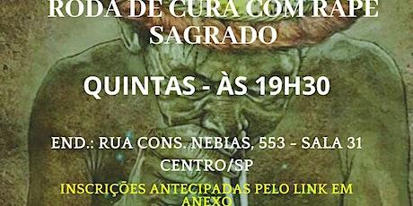 RODA DE CURA COM RAPÉ SAGRADO ingressos