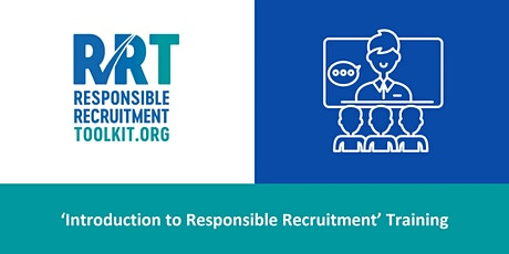 Introduction to Responsible Recruitment | 22/10/2020 tickets