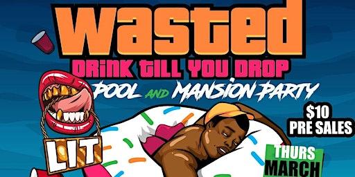 Spring break 42 acre mansion party