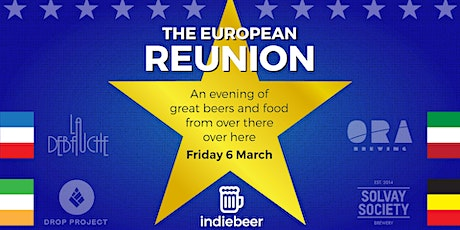 The European Reunion - 4 Beers & Snacks From Different European Countries tickets