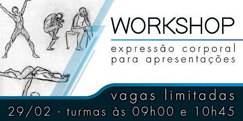 Workshop - Expressão corporal