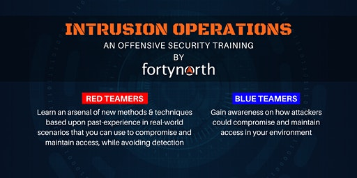 Intrusion Operations(Red Team Training)