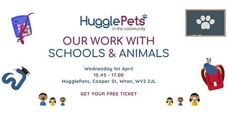 ONLINE MEETING - HugglePetsCIC - Health and Wellbeing for Schools tickets