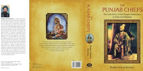 Book Launch  The Punjab Chiefs – The Lost Glory of the Punjab Aristocracy i tickets