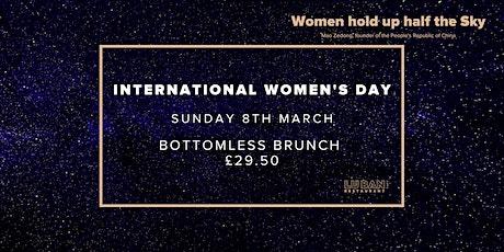 International Women's Day Bottomless Brunch tickets