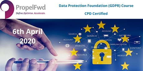 Data Protection  foundation (GDPR) course - CPD certified £449.00 tickets