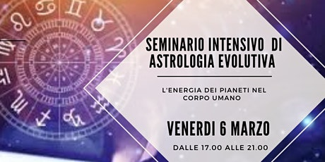 Seminario intensivo di Astrologia evolutiva tickets