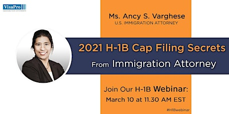 How To File H-1B Cap 2020 Petitions Successfully billets