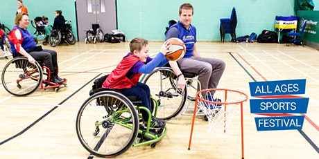 WheelPower All Ages Sports Festival - Saturday 5 December 2020 tickets