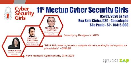 11° Meetup CyberSecurityGirls OWASP tickets