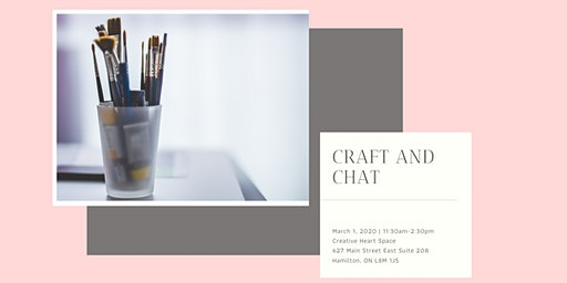Craft and Chat - Self Care through Expressive Art
