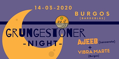 Grungestoner Night in Burgos entradas
