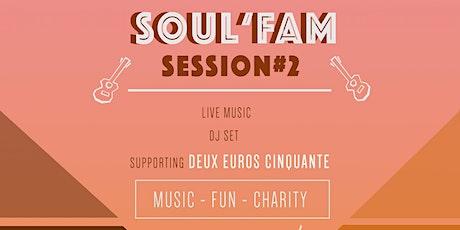 Soul'Fam Session #2 aux Halles Saint-Gery tickets