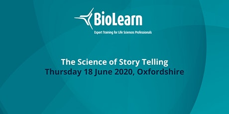 BioLearn: The Science of Story Telling - Oxfordshire tickets