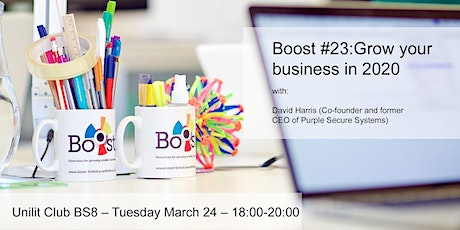 How to grow your business in 2020 tickets