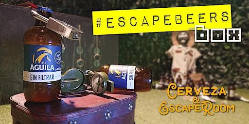 """#EscapeBeers 01: Escape Room + Cervezas """"El Águila"""""""