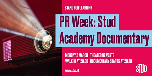 PR WEEK: Stud Academy Documentary
