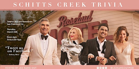 Schitt's Creek Trivia - San Francisco tickets