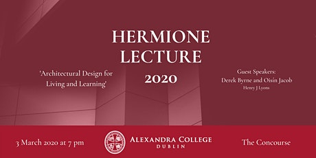 Hermione Lecture 2020 tickets