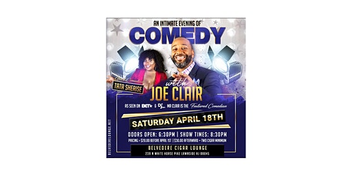 A Night Of Comedy W/ Joe Clair