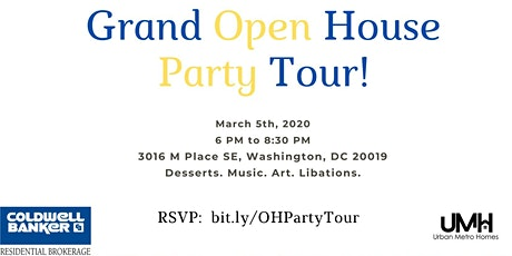 Open House Party Tour! tickets