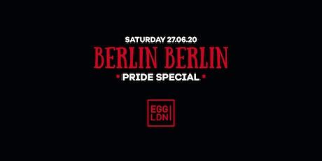 Berlin Berlin - Pride Special tickets