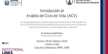 Introducción al  Análisis de Ciclo de Vida (ACV) entradas