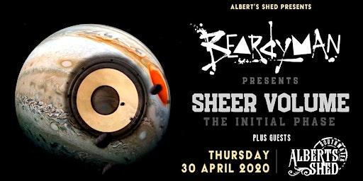 Beardyman: Sheer Volume Tour | Albert's Shed Southwater, Telford