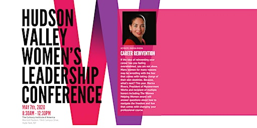 Hudson Valley Women's Leadership Conference: Career Reinvention