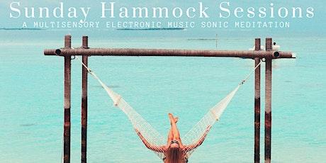 POSTPONED 2-4pm Sunday Hammock Sessions: Sleep Lab & Sound Journey Meditation tickets