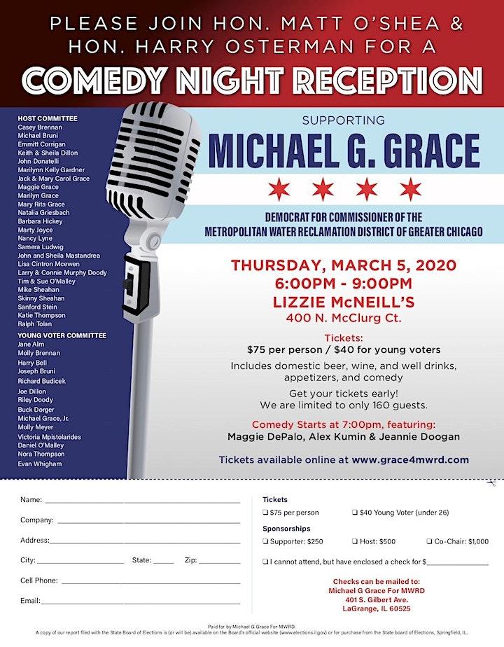 Comedy Night Reception image