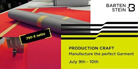 BARTENSTEIN Qualifier - Production Craft Workshop No. 20SCPR-04 tickets