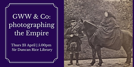 Talk: GWW & Co: photographing the Empire tickets