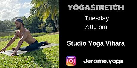 Yoga Stretch at Studio Yoga Vihara tickets