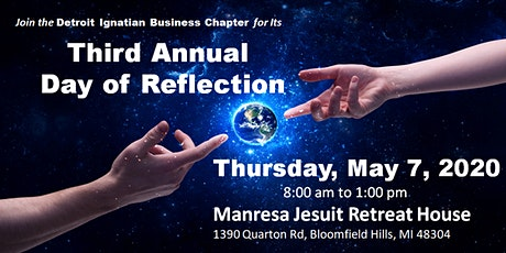 Detroit Ignatian Business Chapter Day of Reflection 2020 tickets