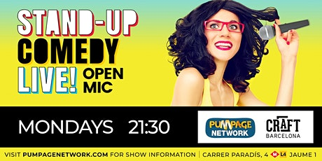 Stand-up Comedy Live! Open Mic entradas
