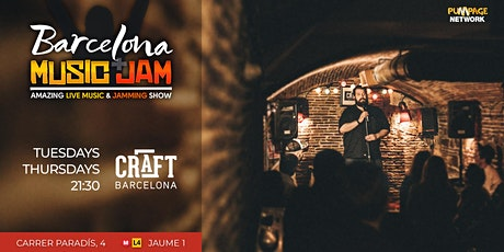 Barcelona Music + Jam = Free Live Music and band competition entradas