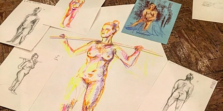 Life Drawing at Wigan STEAM tickets
