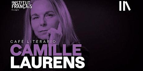 Café Literario con Camille Laurens tickets